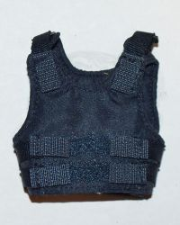 Police Flak Body Armor Vest With velcro Closures (Blue)