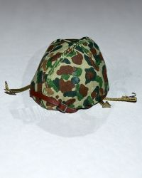 WWII USMC M1 Helmet With Cover (Metal)