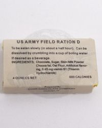 WWII US Army Field Ration D (Hollow Box)