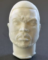 Ice Cube Headsculpt (Unpainted)
