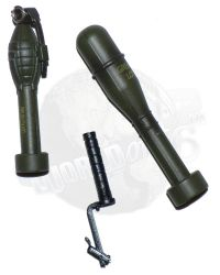 Alert Line WWII U.S. Army Uniform: M7 Grenade Launcher, M9A1 Antitank Grenade & M1A2 Projection Adapter