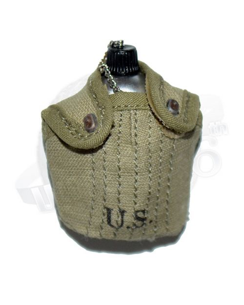 Alert Line WWII U.S. Army Uniform: Canteen & Cover