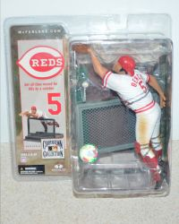 McFarlane Toys Cooperstown Collection Series 4: Cincinnati Reds Johnny Bench