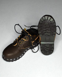 "Custom ""Leatherlike"" Brown Lace Up Shoes"