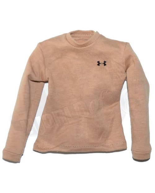 DamToys Operation Red Wings Navy SEALS SDV Team 1 Leader: UnderArmor Long Sleeve Shirt (Tan)