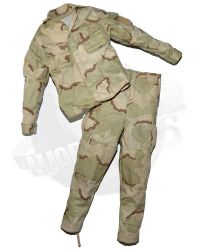 DamToys Operation Red Wings Navy SEALS SDV Team 1 Leader: Desert Camouflagued Battle Dress Uniform