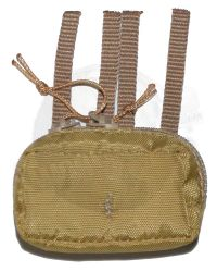 DamToys Operation Red Wings Navy SEALS SDV Team 1 Leader: MLCS General Purpose, First Aid Pouch (Tan)