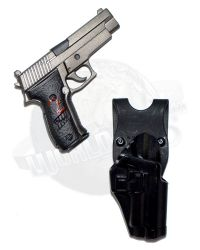 DamToys Operation Red Wings Navy SEALS SDV Team 1 Leader: MK24 Pistol With Holster (Black)