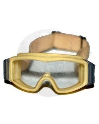 DamToys Operation Red Wings Navy SEALS SDV Team 1 Leader: Profile Goggles (Tan)