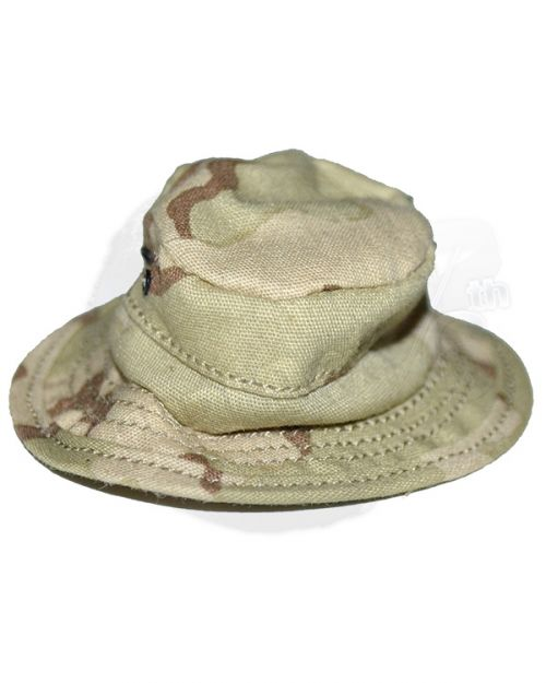 DamToys Operation Red Wings Navy SEALS SDV Team 1 Leader: Desert Camouflagued Boonie Hat