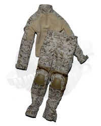 Dam Toys 1st SFOD-D Combat Applications Group Gunner: GEN2 Combat Coat & Trousers