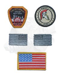 Dam Toys 1st SFOD-D Combat Applications Group Team Leader: Patch Set Morale A, B, Flag A, B