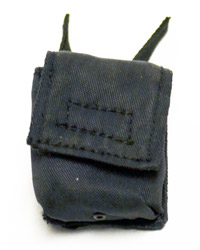 Virtual Toys Dark Soldier: Black Molle Large Pouch Flat Flap