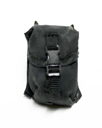 Virtual Toys Dark Soldier: Black Molle Large Pouch Snap Click Flap