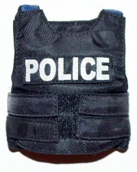 Dragon Models Ltd. Bad Boys: Flak Vest With Police Insignia Patch