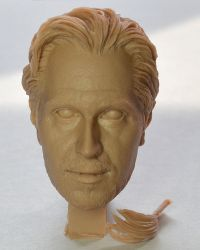 Rainman Exclusive Crazy Dog (Gary Oldman) Headsculpt (Unpainted)