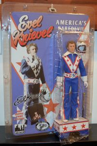Figure Toy Company Evel Knievel 12 Inch Action Figures Series 1: Blue Jumpsuit