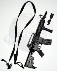 Flagset Toys Masked Mercenaries 2.0: M4 Rifle With Tac Light & Sling