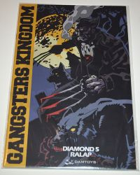 Dam Toys Gangsters Kingdom Diamond 5 Ralap + Ghost: Comic Book