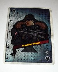 Dam Toys Gangsters Kingdom Spade 5 Baron: Playing Card
