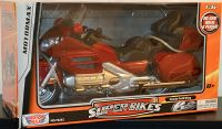 Motormax Honda Goldwing Red Bike Motorcycle 1/6 Diecast Model
