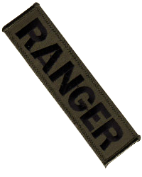 1:1 Scale US Army Modern Ranger Embroidered Patch