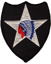 1:1 Scale US 2nd Infantry Division Patch