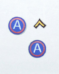 DiD George S. Patton: Army Patches