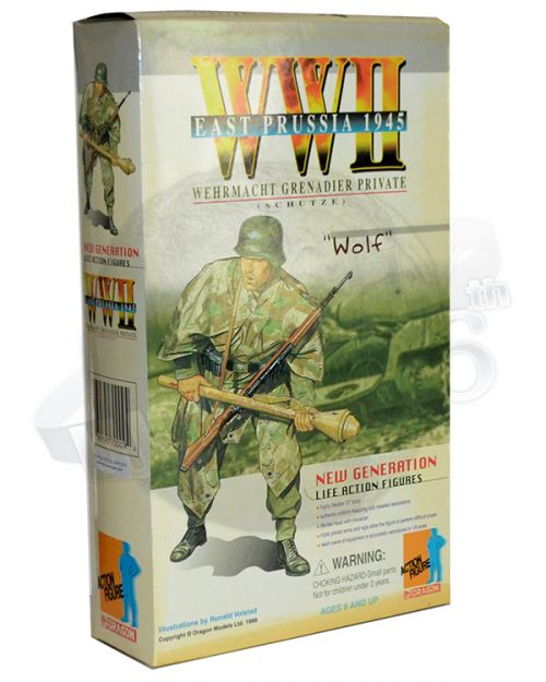 Dragon Models Ltd. Wolf Wehrmacht Grenedier Private East Prussia 1945