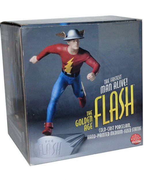 DC Direct Golden Age Flash Statue