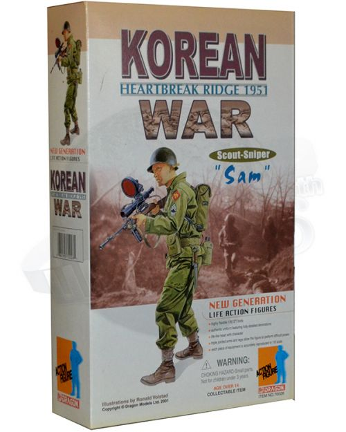 "Dragon Models Ltd. Korean War Heartbreak Ridge 1951 Scout Sniper ""Sam"""