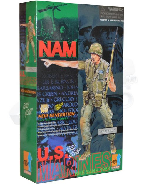 "Dragon Models Ltd. Vietnam War US Marines ""Russell"""