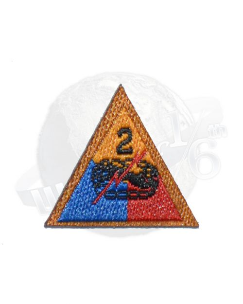 Redman Toys Fury Tank Division: 2nd Tank Division Patch