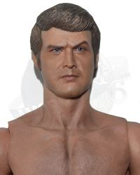 Supermad Toys The Six Million Bionic Man Hunter Outfit Version: Head Sculpt With Figure Body