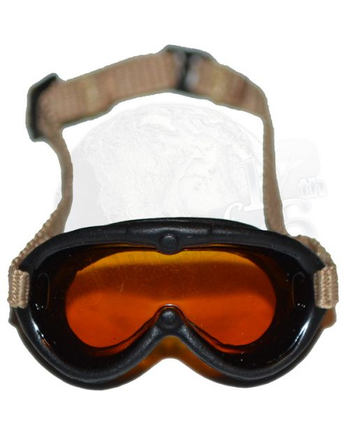 Soldier Story WWII 101st Airborne Division Guy Whidden II: M-1944 Dust Goggles (Dark Polarizing Lens)
