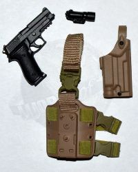 Soldier Story EODMU-11 U.S. Navy EOD Mobile Unit 11: P226 Rail Pistol With 6004 Holster