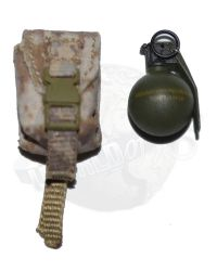"Soldier Story Medal of Honor Navy SEAL ""Voodoo"": M67 Hand Grenade With Pouch"