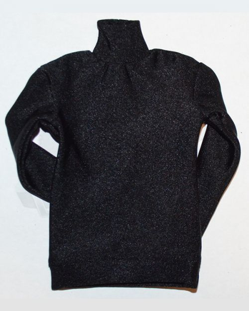Vor Toys Spy Killer Costume Set: Turtle Neck Sweater Pullover (Black)