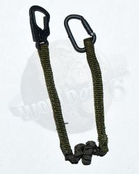Very Hot Toys PMC Private Military Contractor: Bungee Safety Lanyard With Carabiners