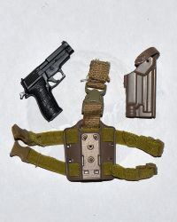 Very Hot Toys PMC Private Military Contractor: Drop Down Holster with Pistol