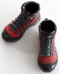 Very Hot Toys The Last No More: Tactical Boots (Red & Black)
