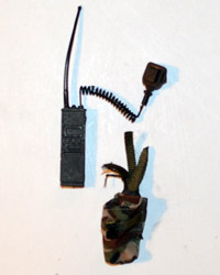 Very Hot US Army EOD: Field Radio With Pouch
