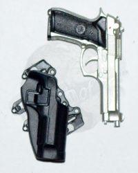 M9 Pistol /& Drop Leg Holster for VTS TOYS VM-027 THE REVENGER ULTIMATE EDITION