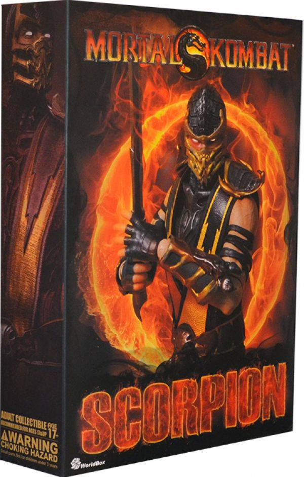 World Box Mortal Kombat Scorpion