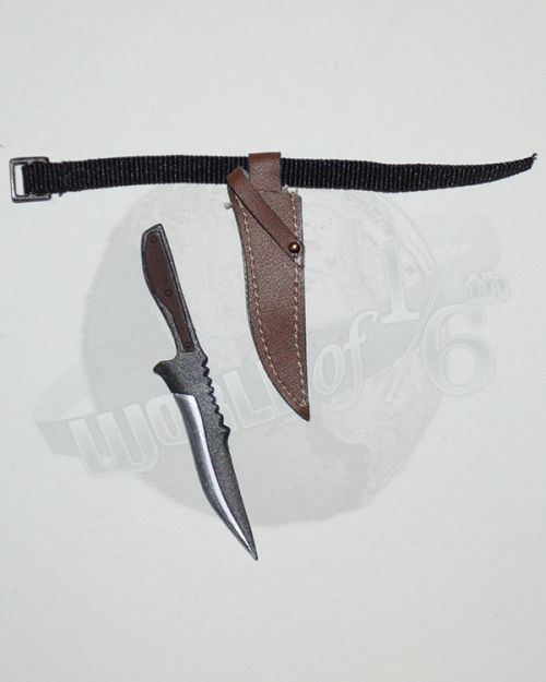 Wolf King Western Story Redhead Denny: Boot Knife With Sheath