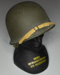 Gearbox Toys 1/4 Scale USMC M1 Helmet With Base