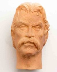 WoOS Originals Custom Deadwood Al Swearengen Headsculpt (Mustache)