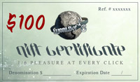 $100 World of One Sixth Gift Certificate