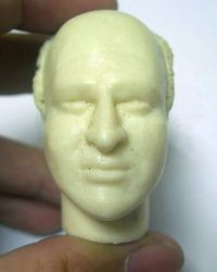 Jerry Sienfeld Show George Costanza Headsculpt (Unpainted)